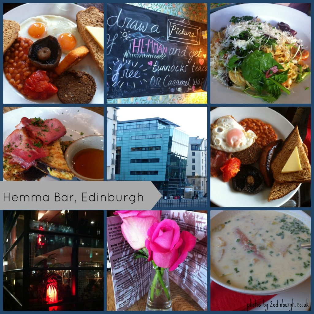 food at Hemma Bar, Holyrood